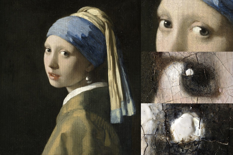 See the 'Girl with a Pearl Earring' painting in 10-gigapixel detail