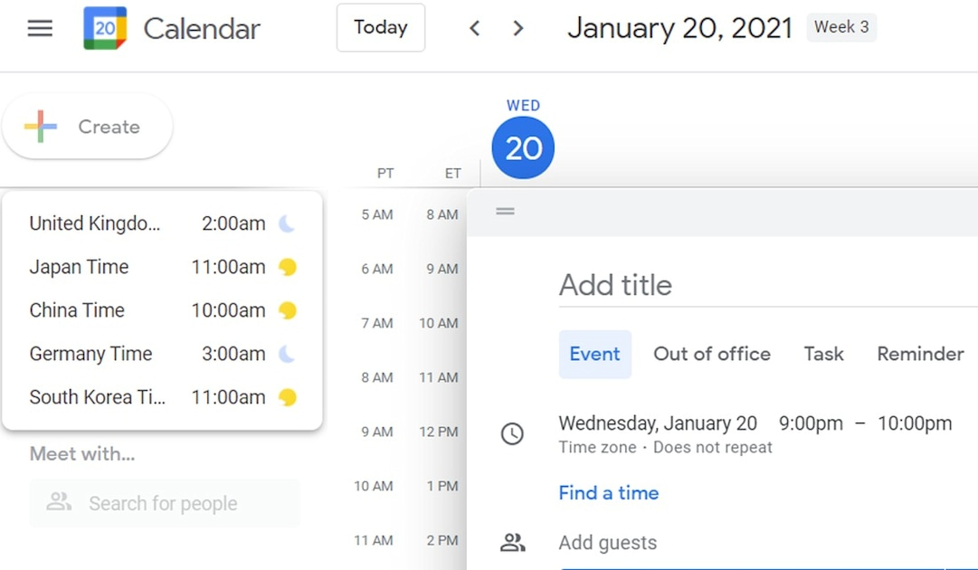 Google Calendar's desktop site can work offline again, in some cases