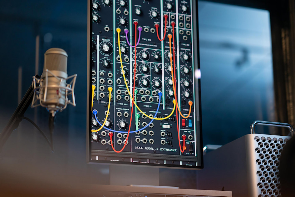 Moog app brings the classic Model 15 modular synth to the Mac