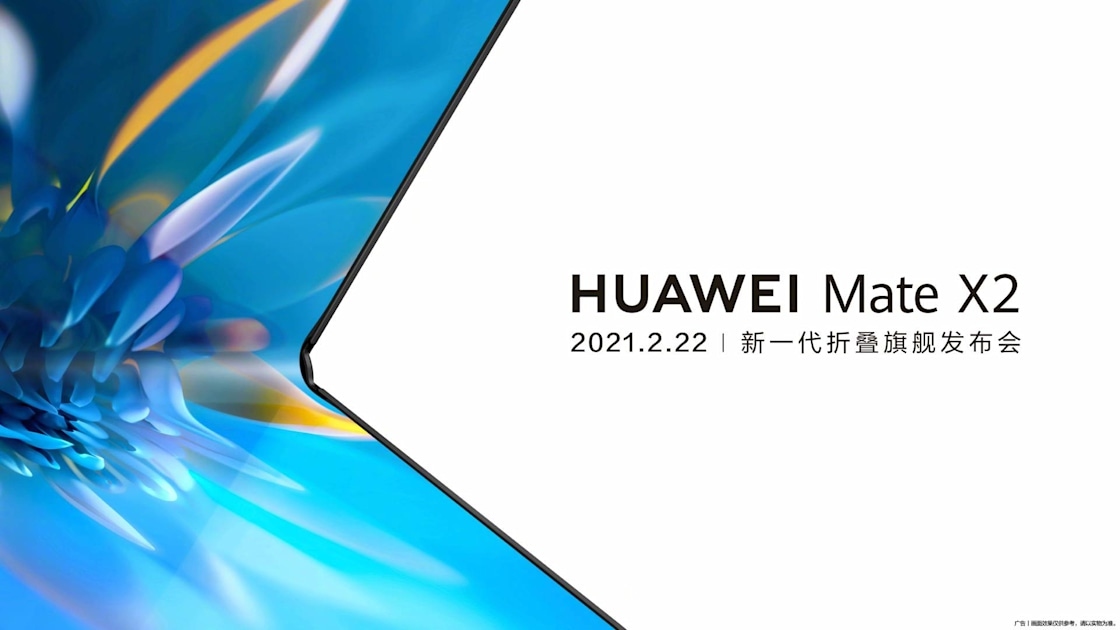 Huawei's foldable Mate X2 will launch on February 22nd – Engadget