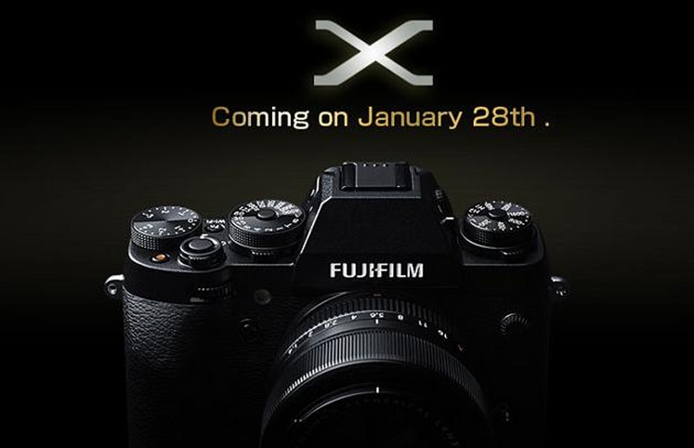 Fujifilm teases a new X-mount camera with full manual dials and possible weather sealing