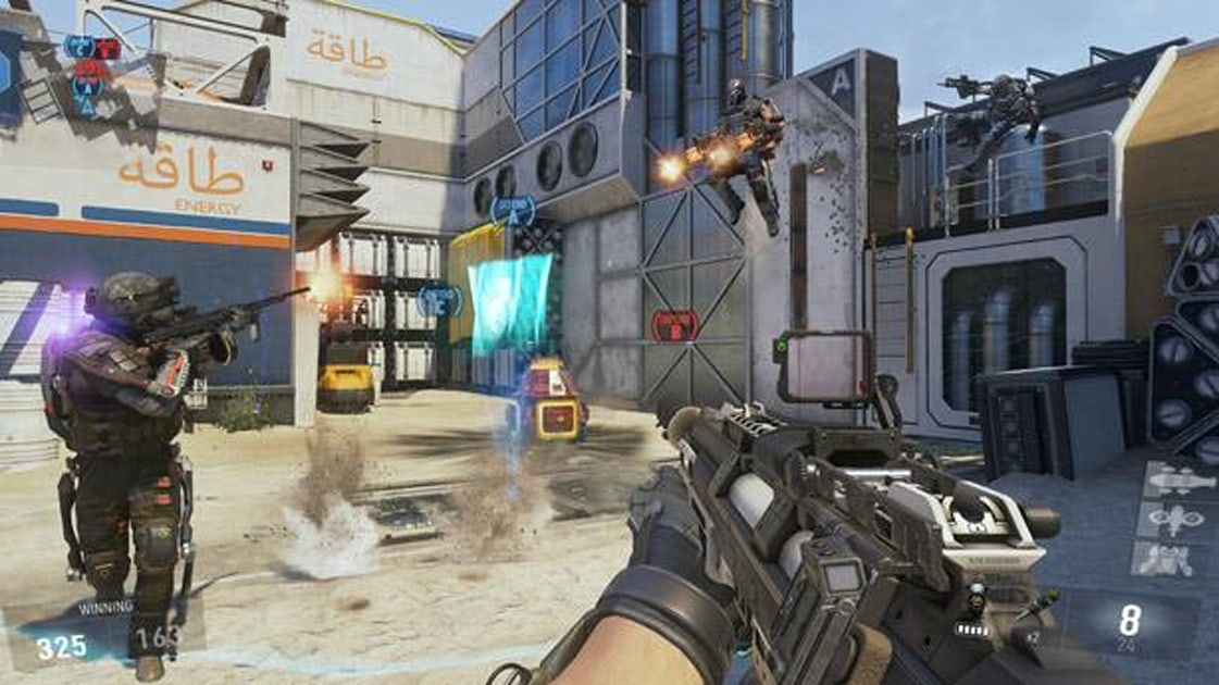 Major Call Of Duty Advanced Warfare Patch Hits Ps4 Xbox One Engadget