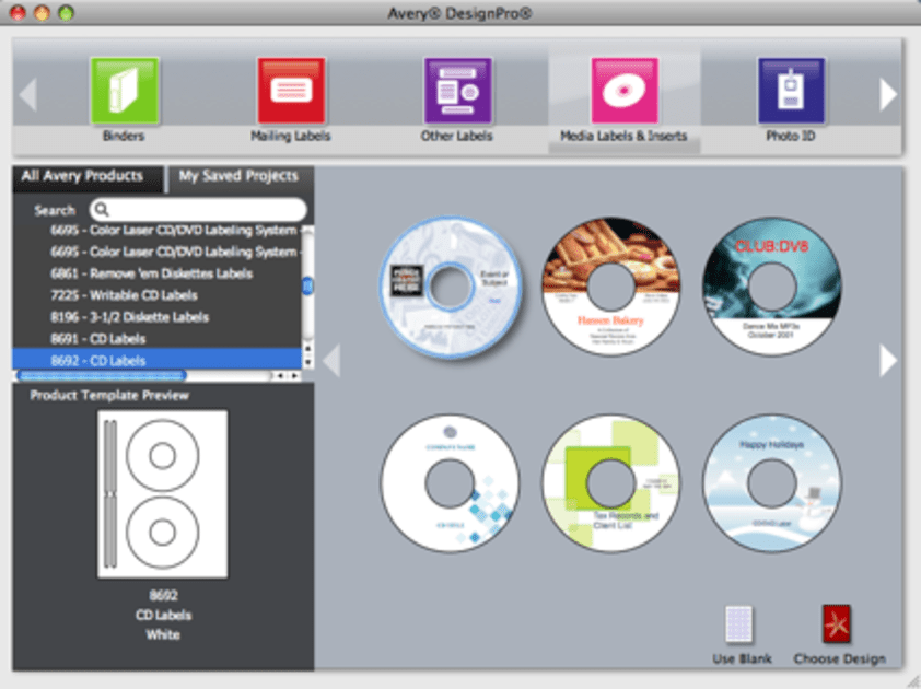 Avery Releases Free Design Pro For Mac Engadget