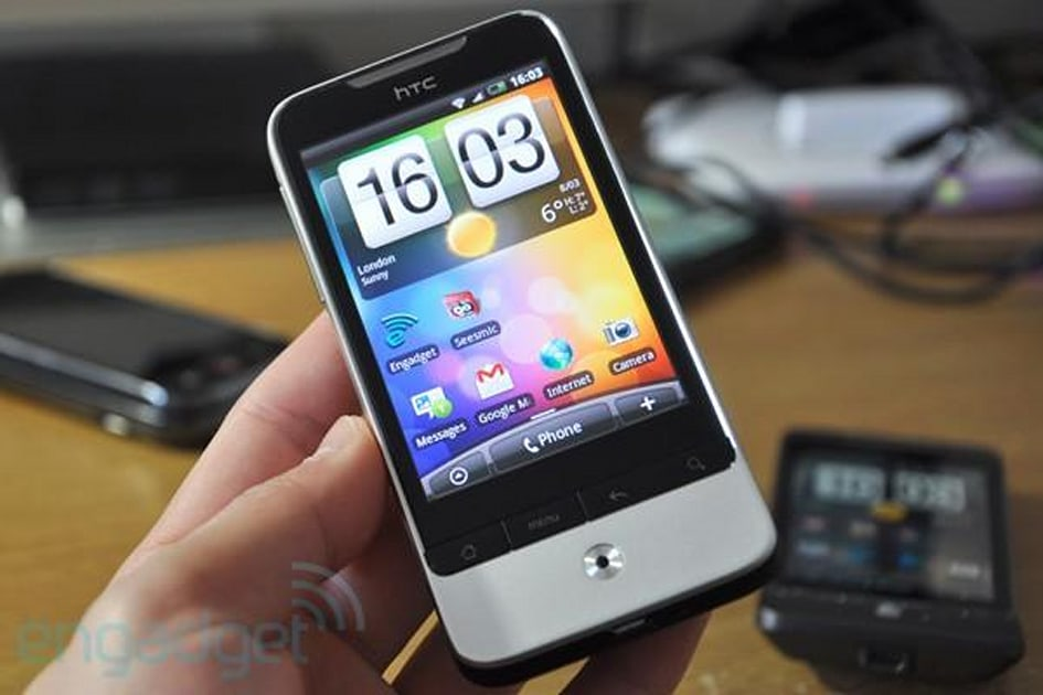 HTC Legend review   Engadget