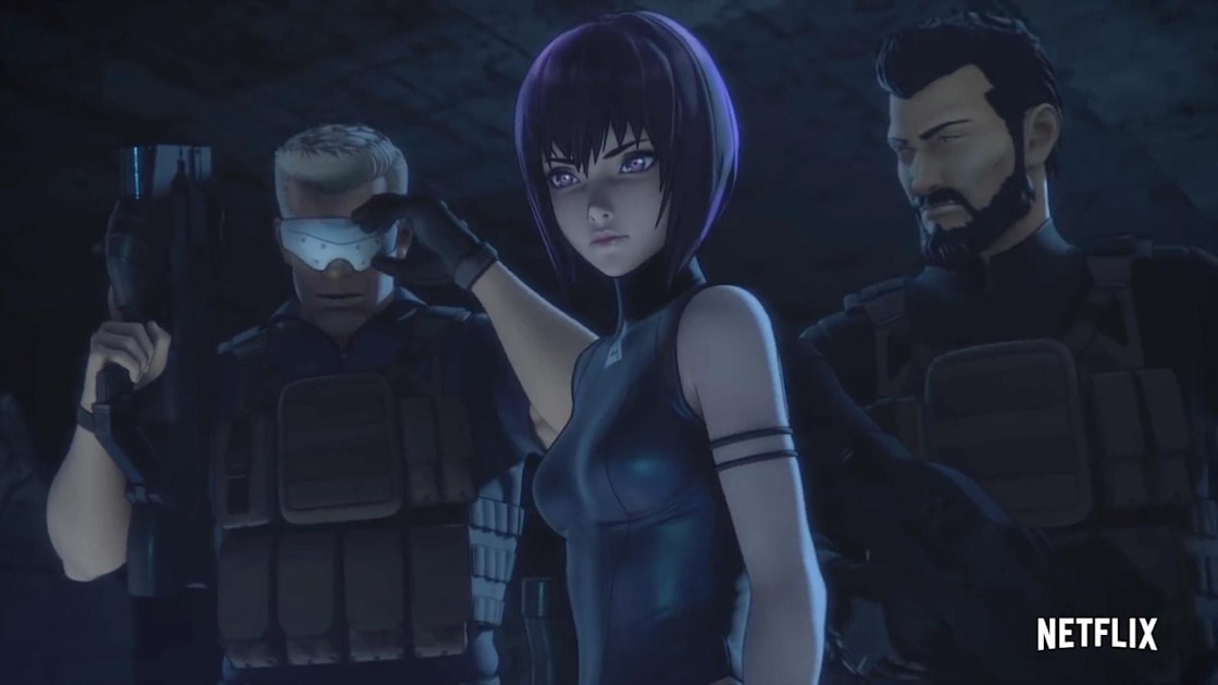 Watch The First Full Trailer For Netflix S Divisive Ghost In The Shell Series Engadget