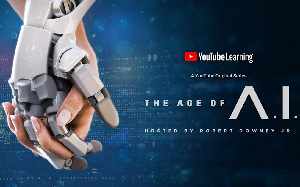 YouTube's series on AI with Robert Downey Jr. is finally available