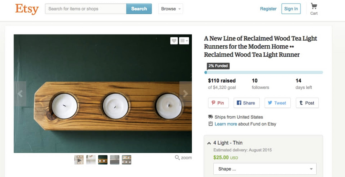 Etsy launches crowdfunding service to help sellers