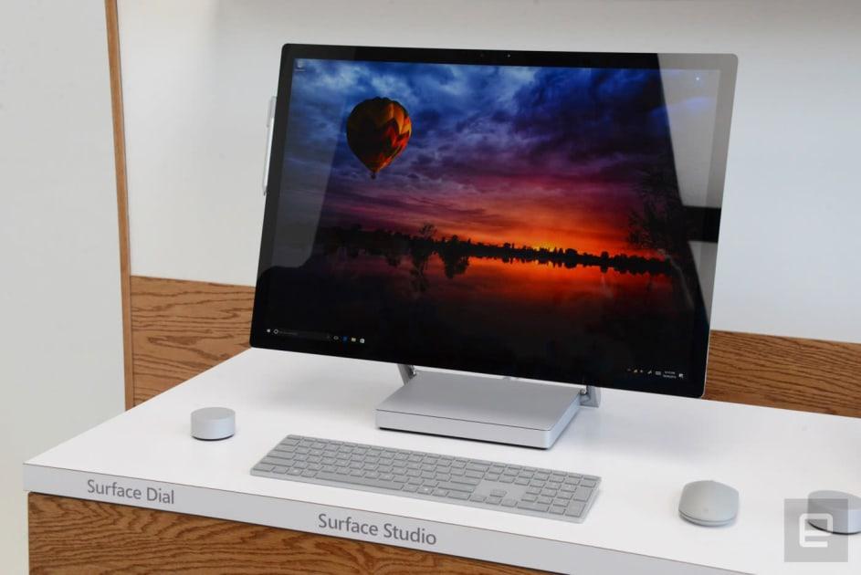Microsoft's big-screen Surface Studio is an engineering marvel