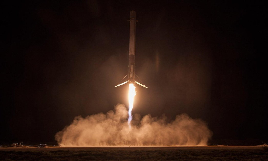 Watch high-speed footage of past SpaceX launches
