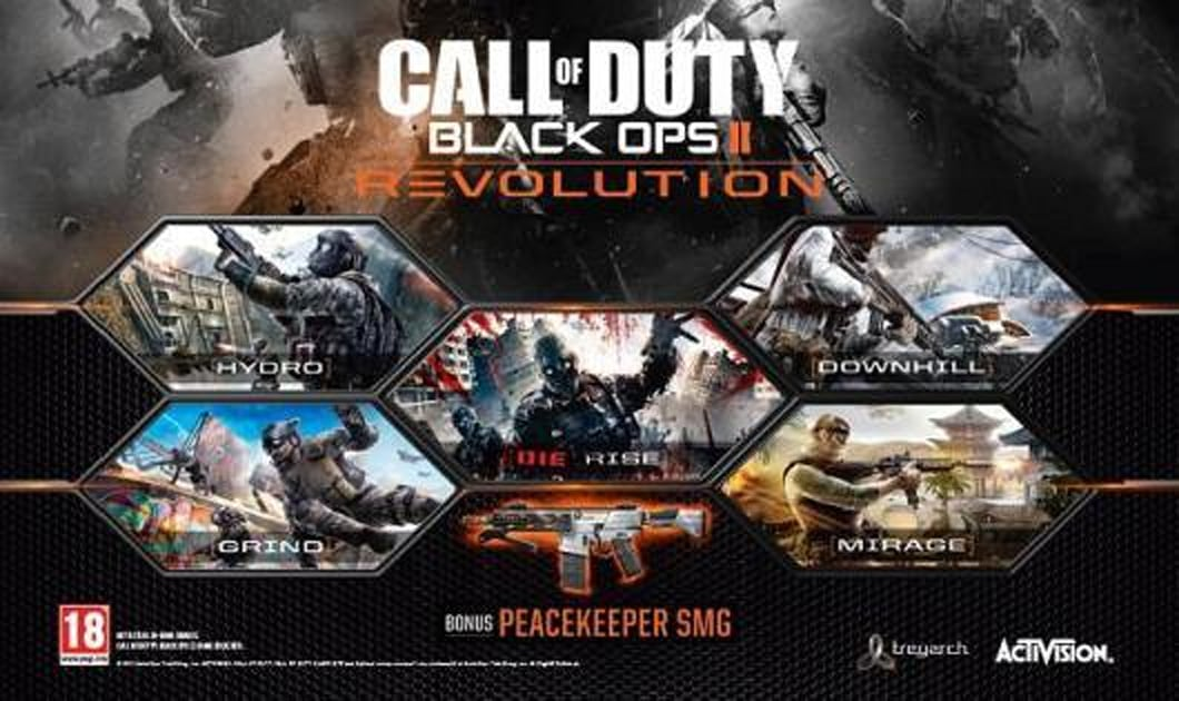Black Ops 2 Revolution Hits Xbox Jan 29 With New Weapon Mode Maps Engadget