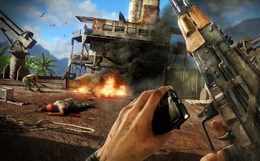 Far Cry 3 Review The Slippery Corpse Engadget