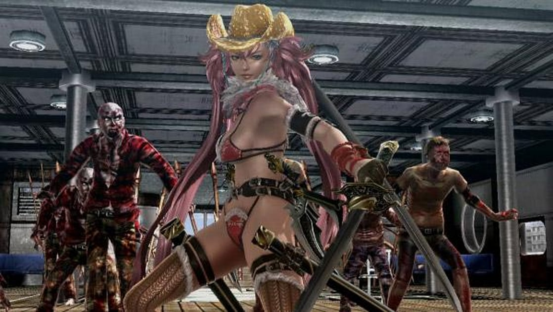 Onechanbara Z2 Chaos Delivers 1080p Bikinis To Japanese Ps4s This Year Engadget