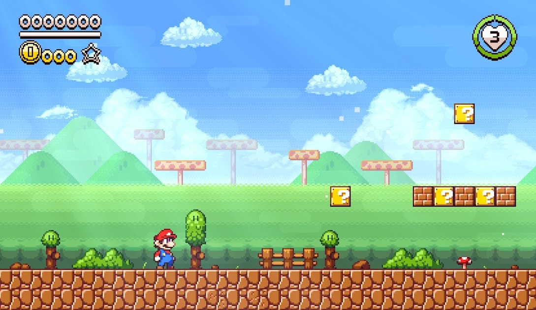 Super Mario Flashback Is A Stunning Pixel Art Fan Game Engadget,Middle Class Small Home Interior Design Ideas India