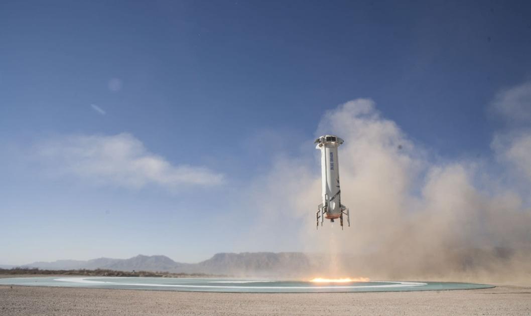 Blue Origin will livestream its first test flight of 2018