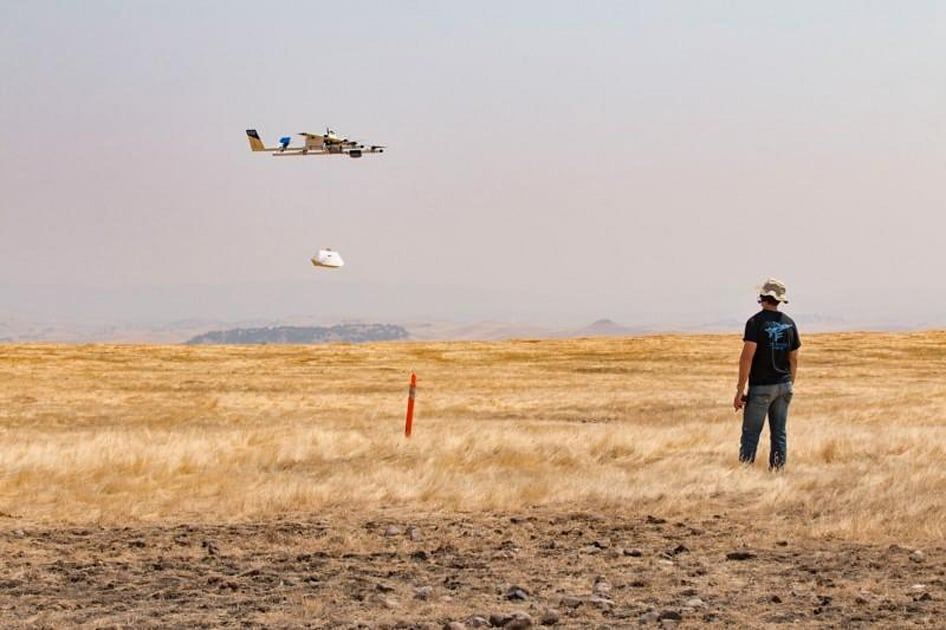 Burritos by drone will soon be a thing
