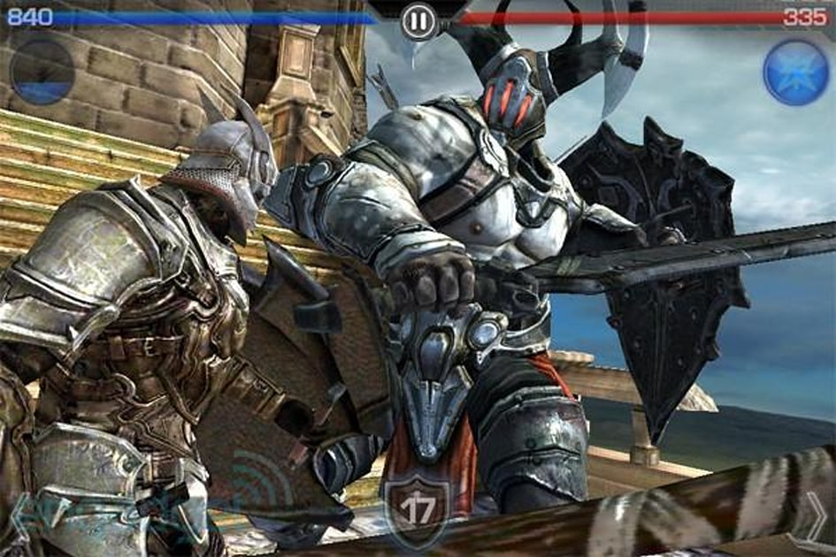 App Review Infinity Blade Iphone Engadget