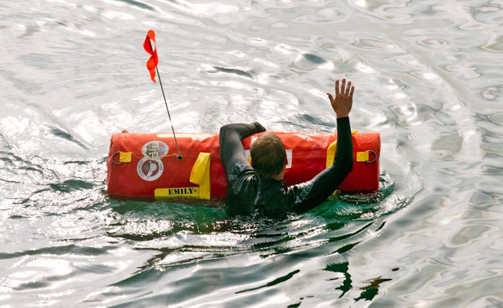 Emily is a tough, remote-controlled robotic lifeguard