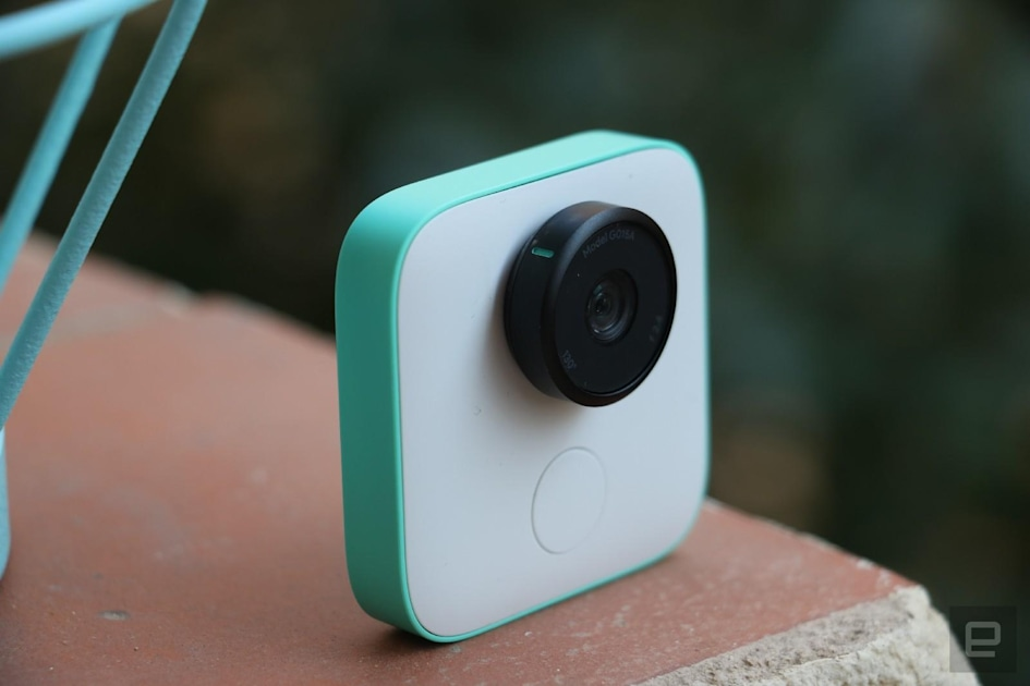 Google's Clips camera now takes high-res photos on demand