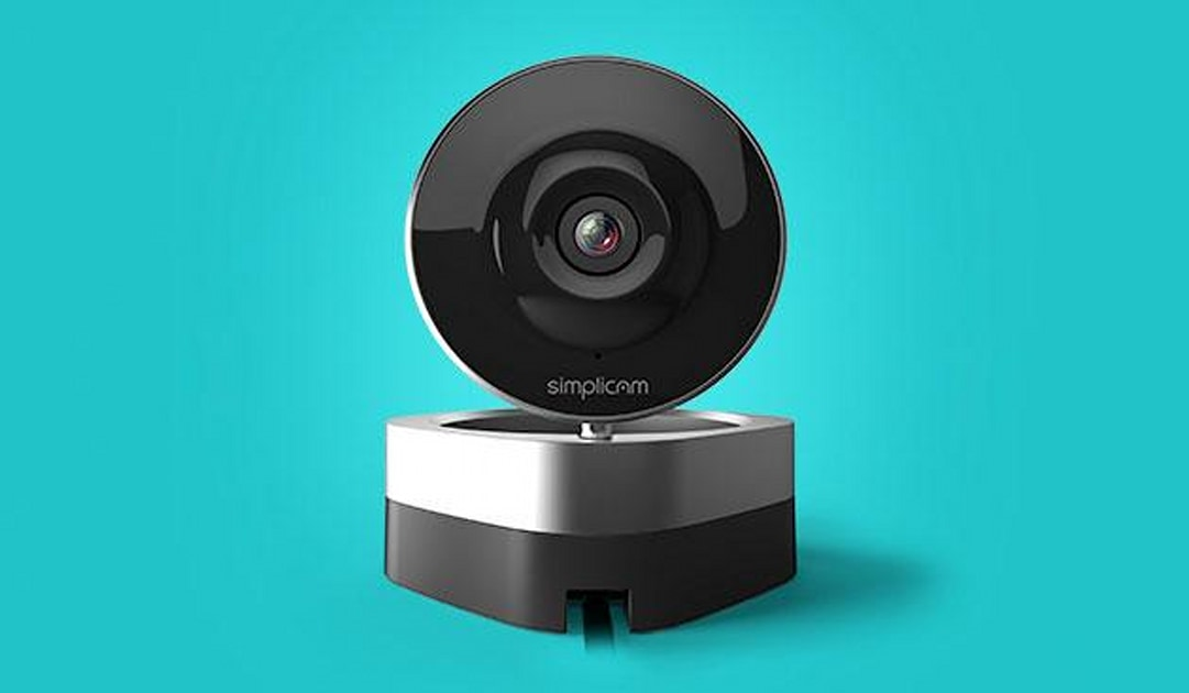 Simplicam watches your house while you're away, uses facial recognition to tell you who's home