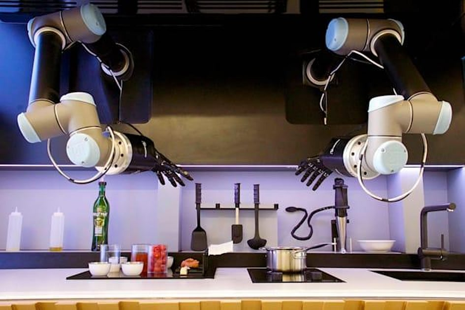 Robot arms will cook your meals like a 'MasterChef'