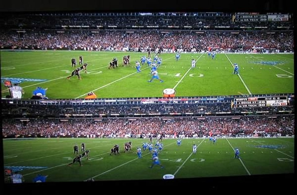 Espn 3d Review College Football Kickoff Engadget