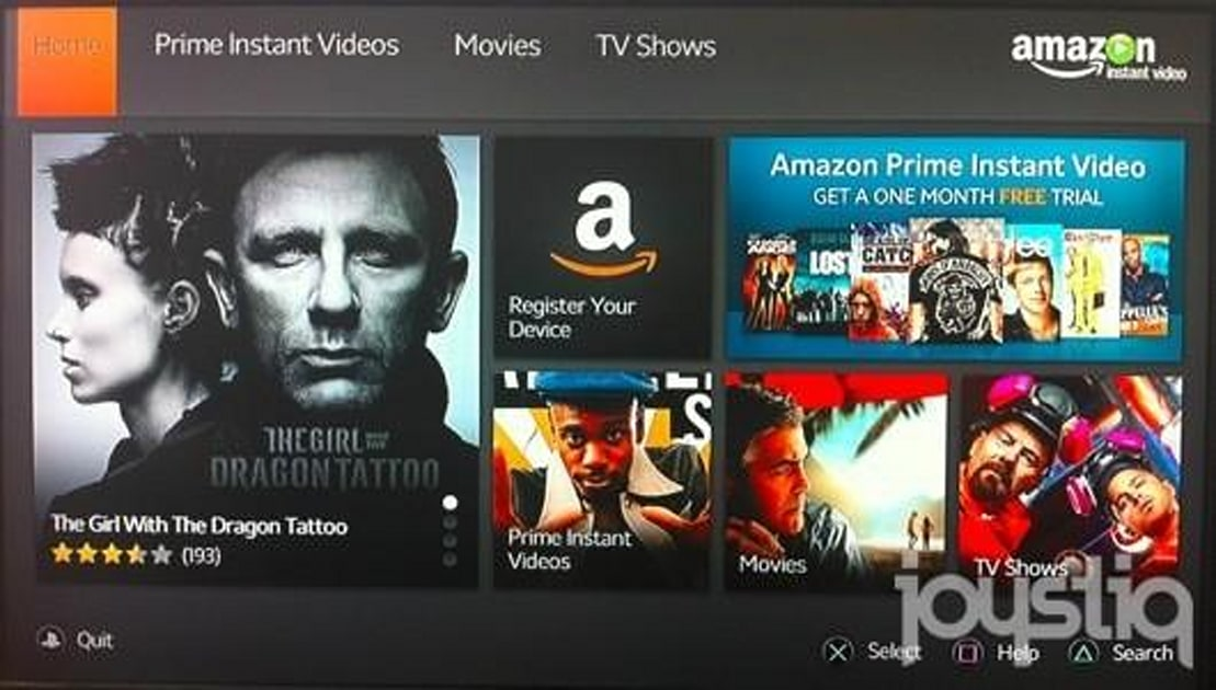 Amazon Instant Video app for the PS3 brings both Prime subscriptions and  VOD along | Engadget