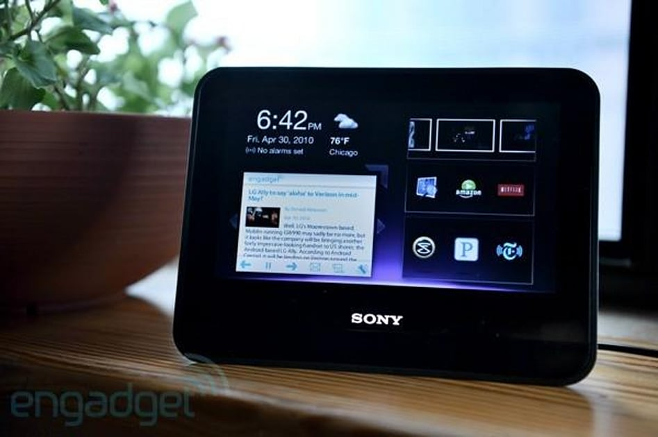 Sony Dash Review Engadget