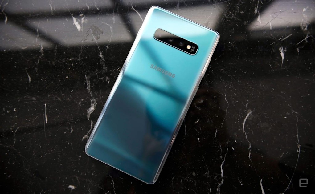 The S10 has a Bixby button, but it can be remapped to open any app