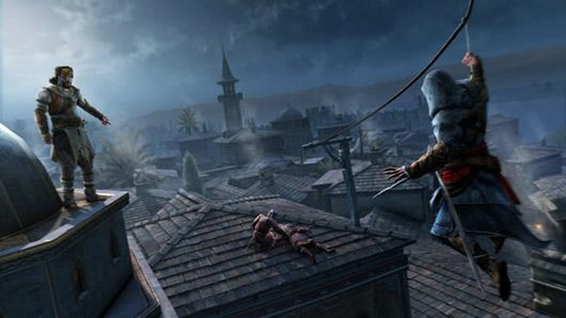 Assassin S Creed Revelations Hooked In Istanbul Engadget