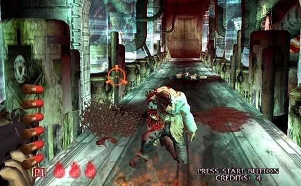 House Of The Dead 3 On Psn Next Week Demo Out Now For Ps Plus