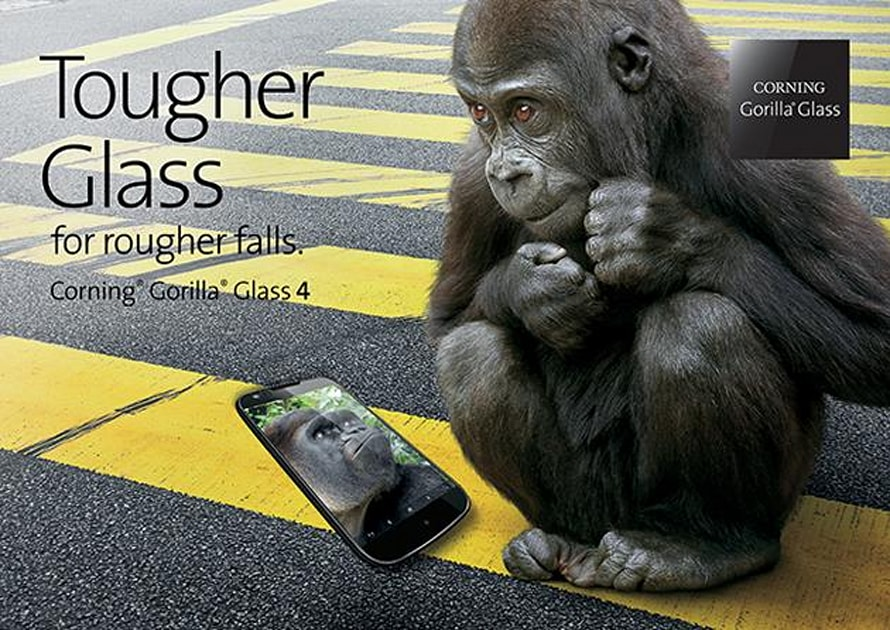 Gorilla Glass 4 shouldn't shatter when you drop your phone
