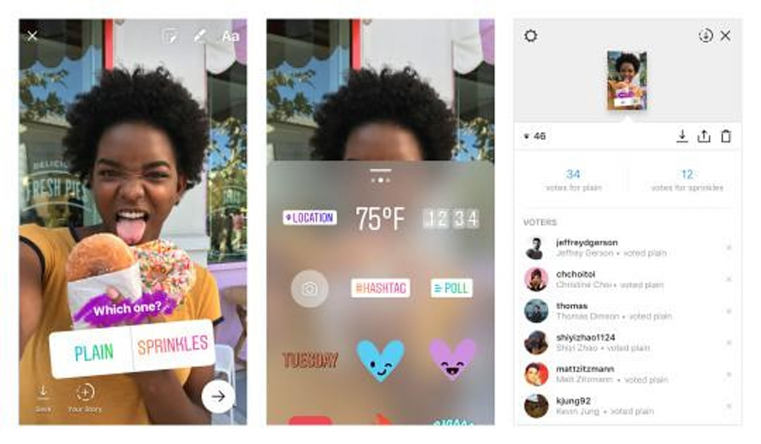 Instagram's new Stories sticker is all about polls | Engadget
