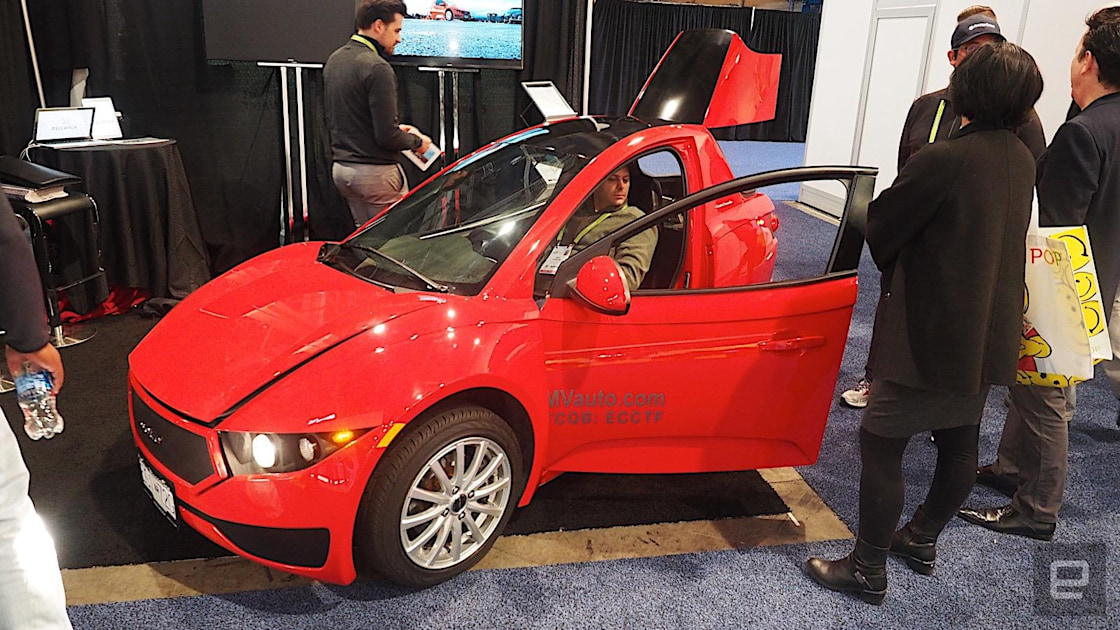 Electrameccanica's Solo is a single-seat EV commuter car