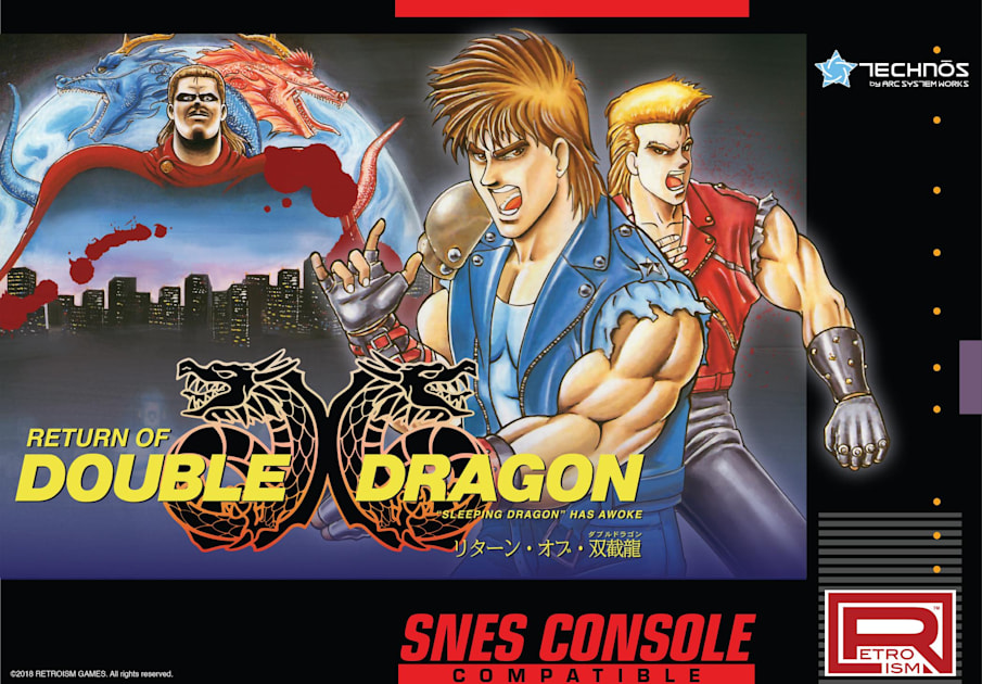 Japan Only Double Dragon Game Comes To The Super Nes This Summer