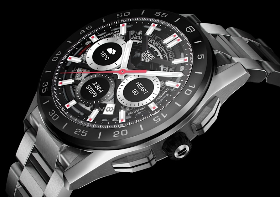 TAG Heuer's latest smartwatches start at $1,800