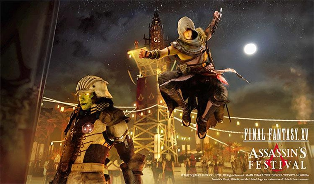 Assassin S Creed Is Crossing Over With Final Fantasy Engadget