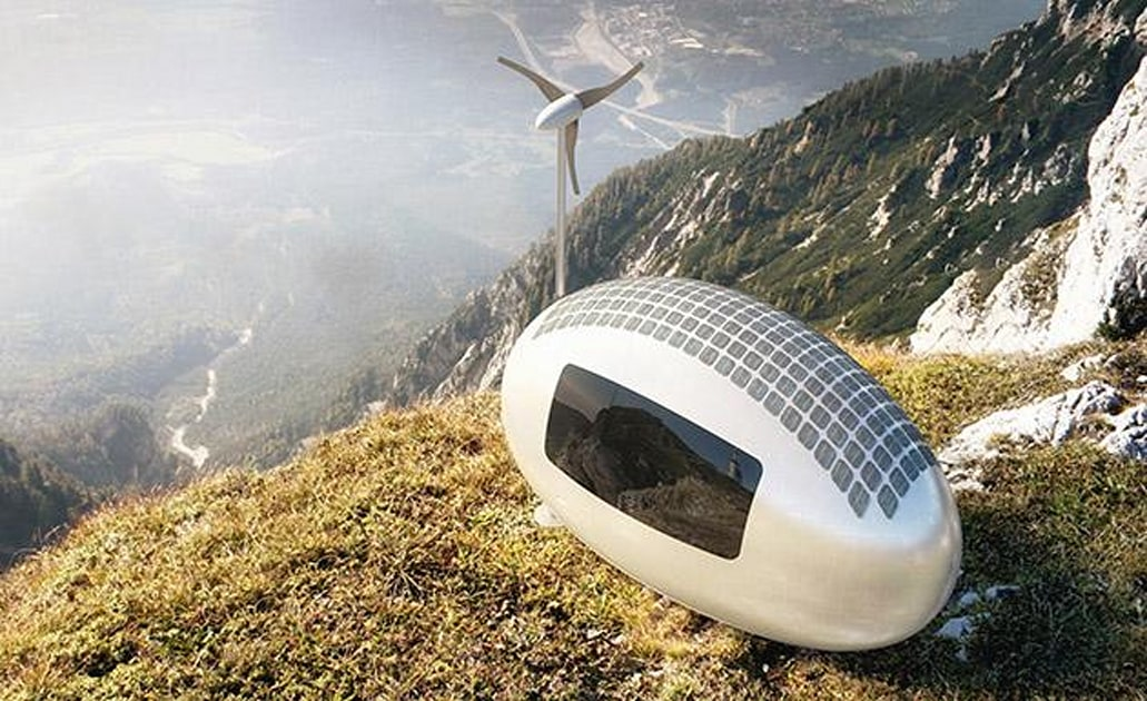 Ecocapsules are pint-sized solar and wind-powered micro homes