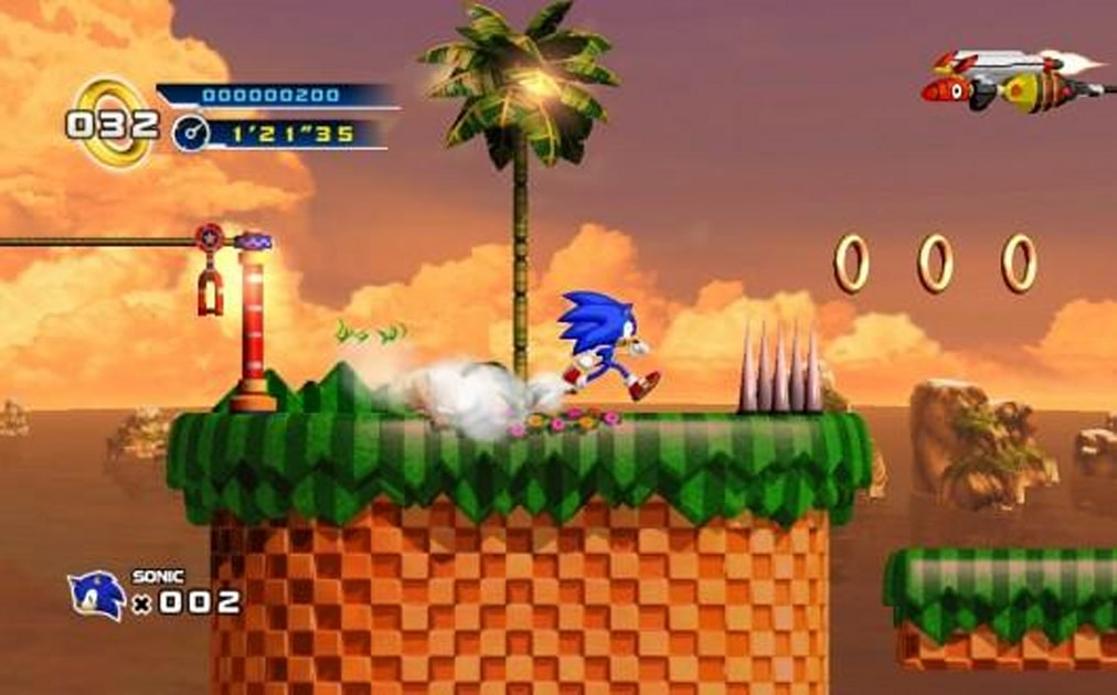 Sonic The Hedgehog 4 Episode 1 Review Spin Dashed Hopes Engadget