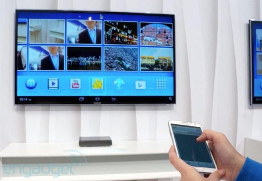 Samsung 's HomeSync Android TV box hits stores October 6th ...