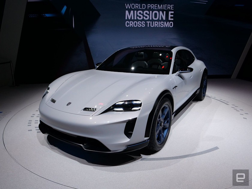 Porsche pushes back the launch of its second EV to 2021