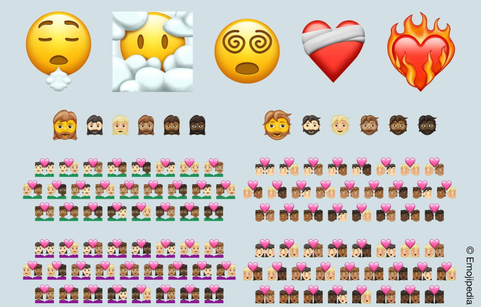Photo of Minor emoji update for 2021 adds 200 skintone variations for couples