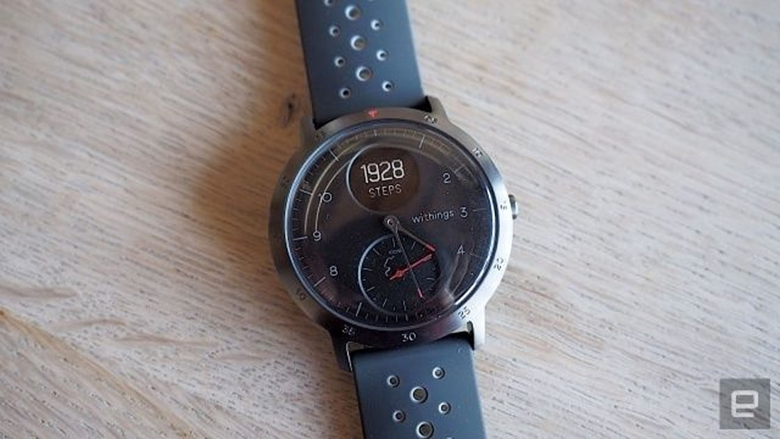 Withings' Steel HR smartwatch is 30 percent off ahead of Black Friday