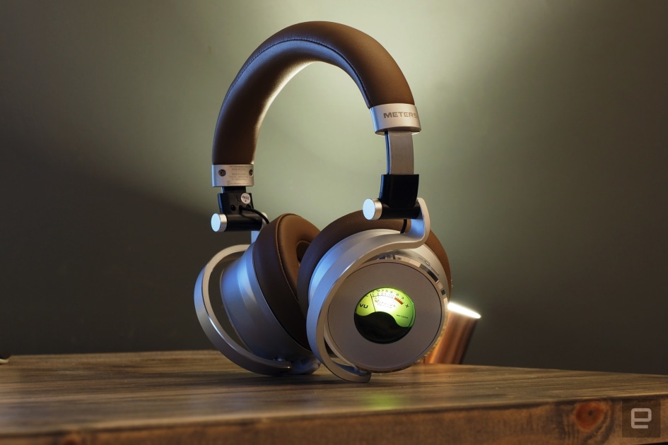 The OV-1-B Connect meter headphones have VU dials and are priced at $ 349