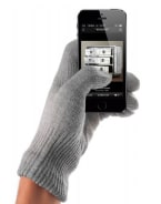 Mujjo Touchscreen Gloves Natural Gray