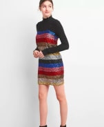 GAP Crazy stripe sleeveless sequin