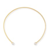 CYN Emi Pearl Collar Necklace,