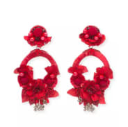 Ranjana Khan Posie Statement Earrings