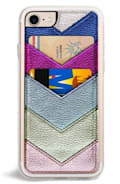 ZERO GRAVITY Chevron Faux Leather iPhone