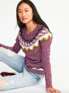 Old Navy Classic Fair Isle Sweater for
