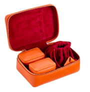 STOW Amelia Leather Jewellery Case Set